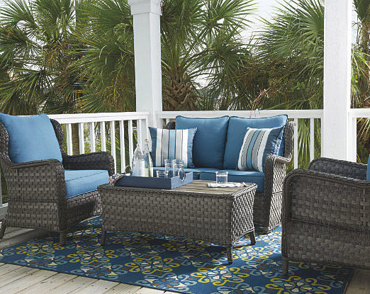 Outdoor Furniture On Front Patio For Sale At Ashley Homestore Killeen - Fort Hood
