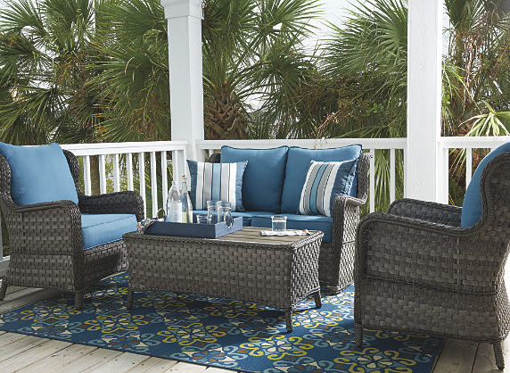 Abbots Court 4-Piece Outdoor Seating Set 1