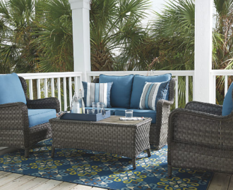 Abbots Court 4-Piece Outdoor Seating Set