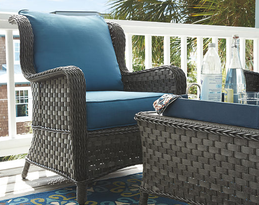 Abbots Court 4-Piece Outdoor Seating Set 6