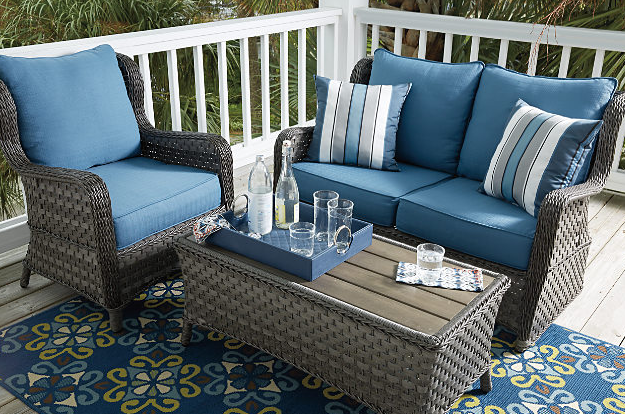 Abbots Court 4-Piece Outdoor Seating Set 7
