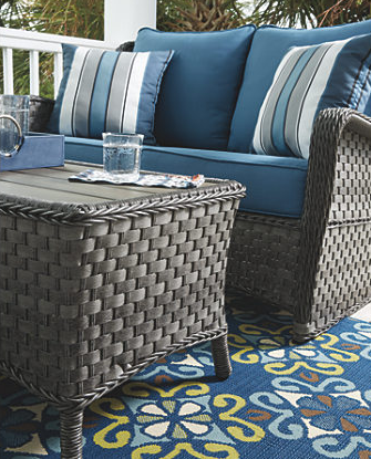 Abbots Court 4-Piece Outdoor Seating Set 8