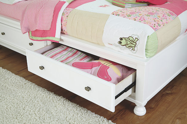 Kaslyn Twin Bookcase Bed4