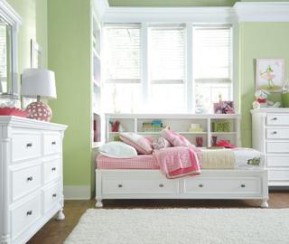 Kaslyn Twin Bookcase Bed5