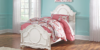 Korabella Twin Panel Bed