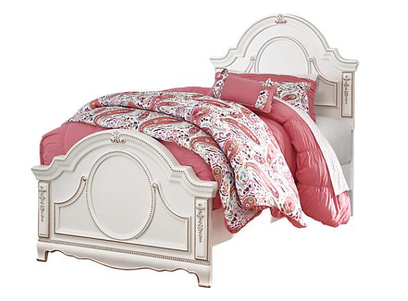 Korabella Twin Panel Bed2