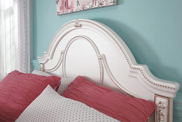 Korabella Twin Panel Bed3
