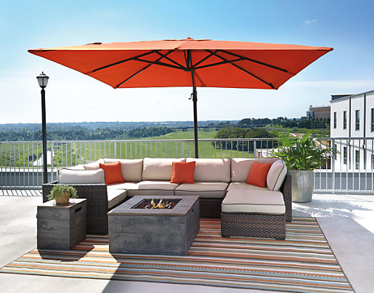 Oakengrove Patio Umbrella 3