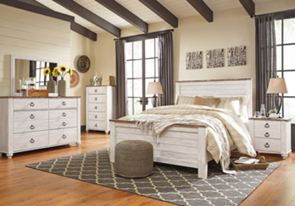 Willlowton Bedroom Furniture At Ashley Homestore Killeen - Fort Hood