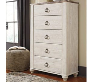 Willowton Tall Chest For Sale Ashley Homestore Killeen - Fort Hood