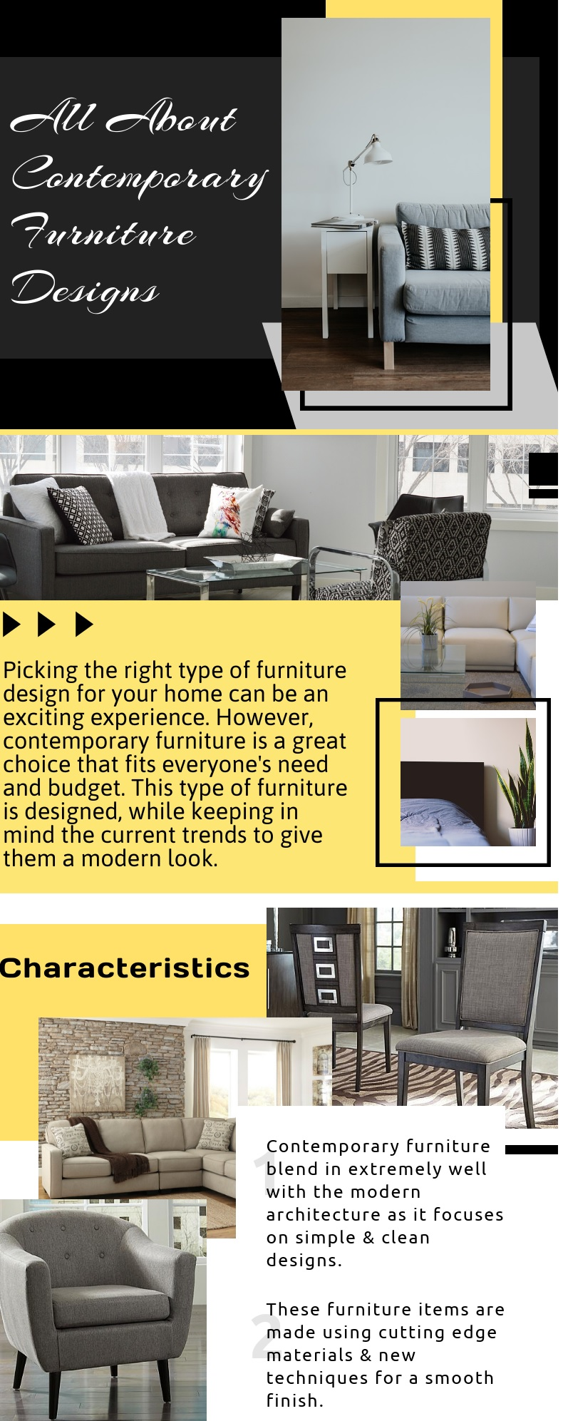 All About Contemporary Furniture Design