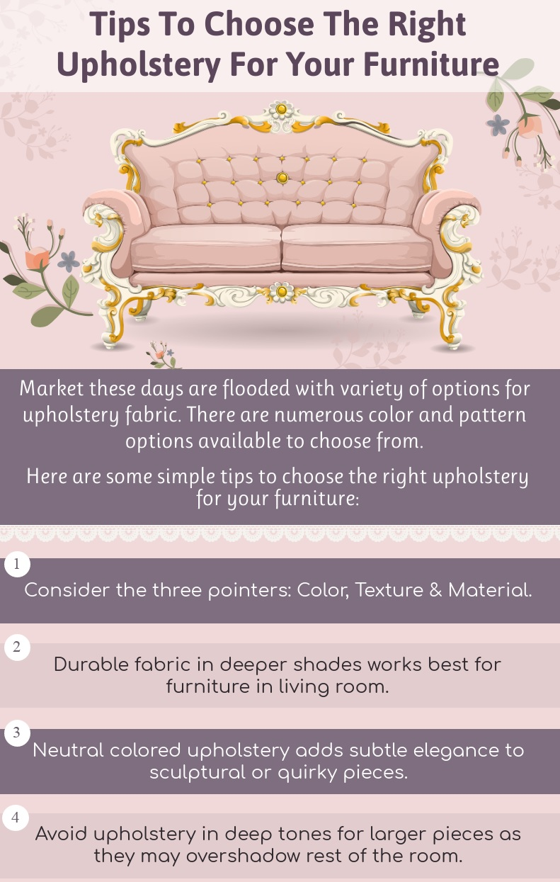 Tips To Choose The Right Upholstery For